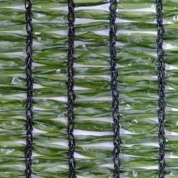 Malla Ocultación Verde, 1x2 m (100 m/rollo)