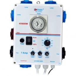 Mini controller 4 x 600W + extractores CLI-MATE