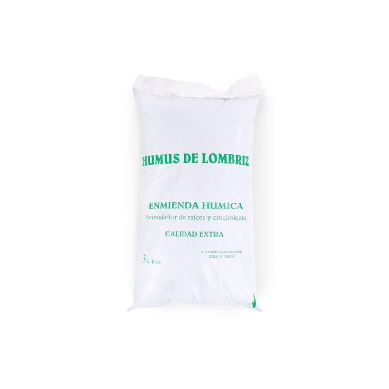 Humus de Lombriz Enmienda Humica Calidad Extra