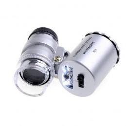 Microscopio lupa 60x mini...