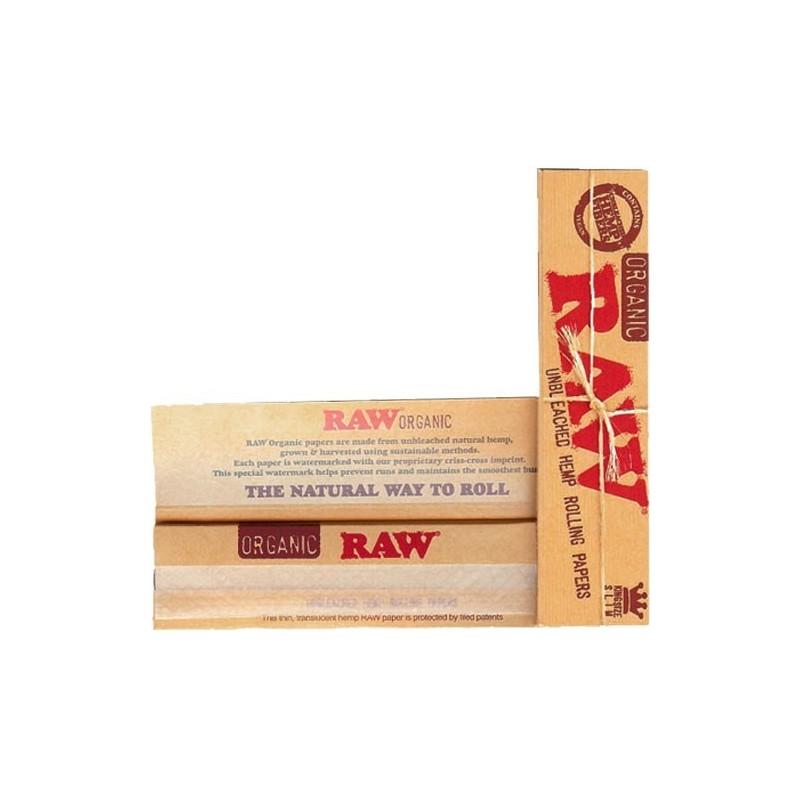 Papel Raw King Size Slim