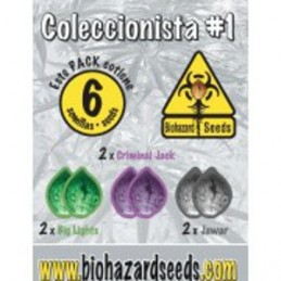 COLECCIONISTA  1 (6) 100% BIOHAZARDSEEDS