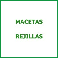 Macetas Rejillas